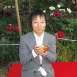 清眼寺で抹茶を頂く
